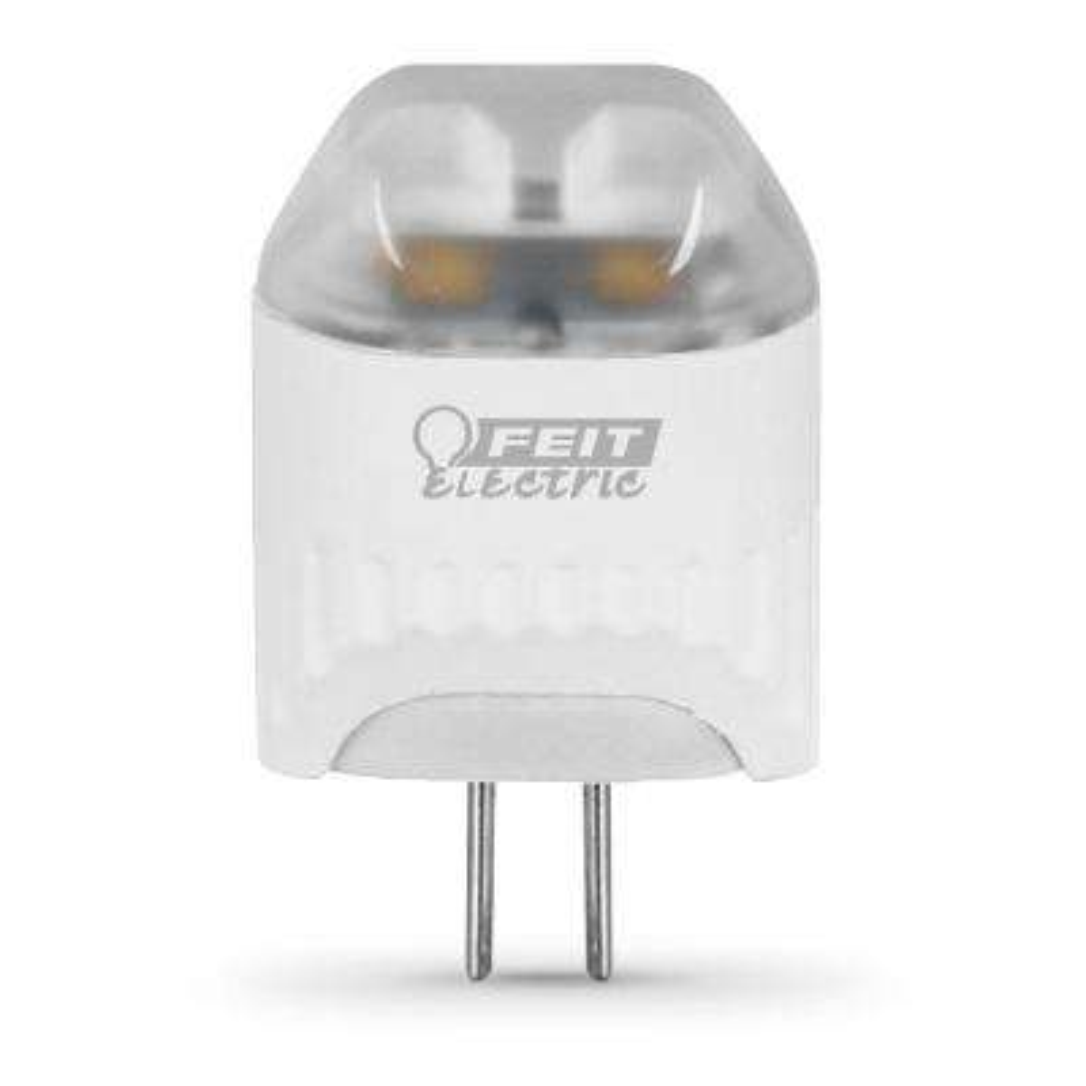 20W Equivalent Warm White (3000K) Wedge LED G4 2-Pin Base 12-Volt Landscape Garden Light Bulb