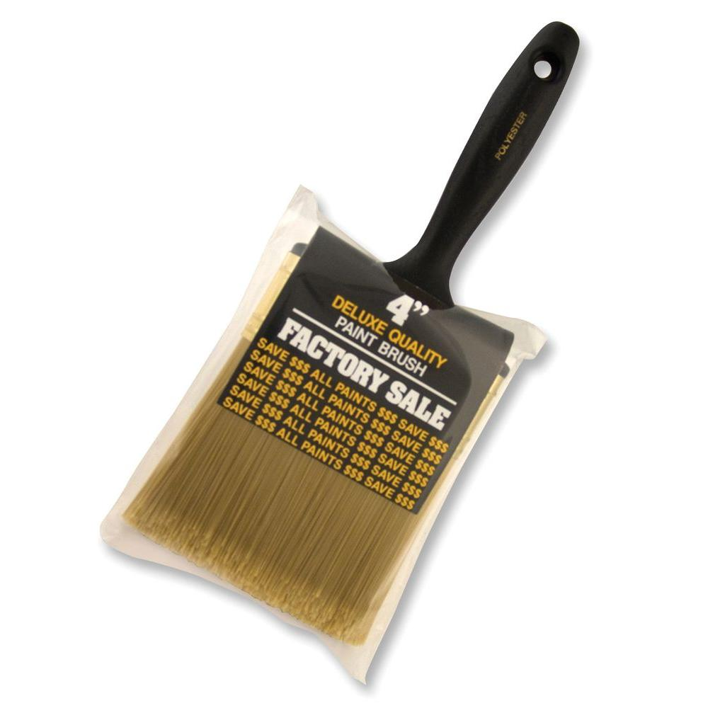 4 in. Factory Sale Synthetic Brush