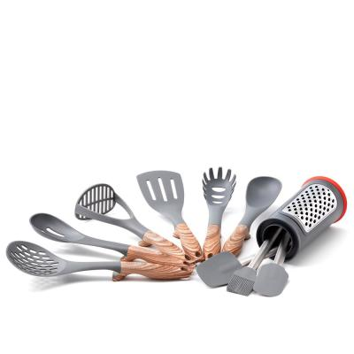 11 Pc. Hanging Kitchen Tools Set with Caddy