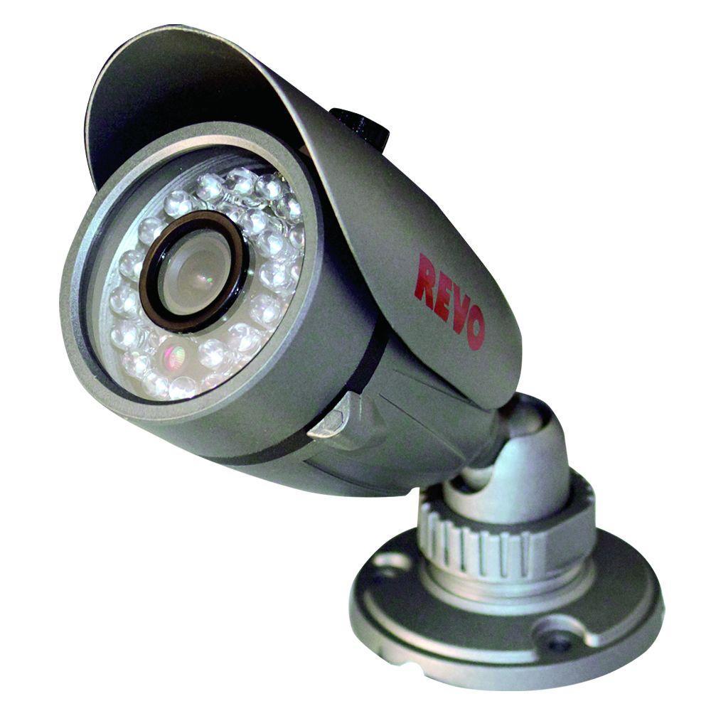 Revo Quick Connect 600 TVL Indoor/Outdoor Bullet Surveillance Camera