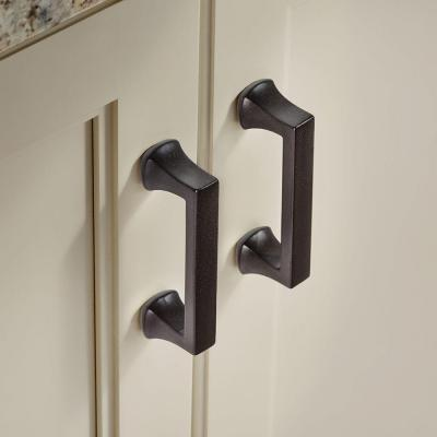 Mandara 3 in. (76 mm) Center-to-Center Cocoa Bronze Drawer Pull (6-Pack)