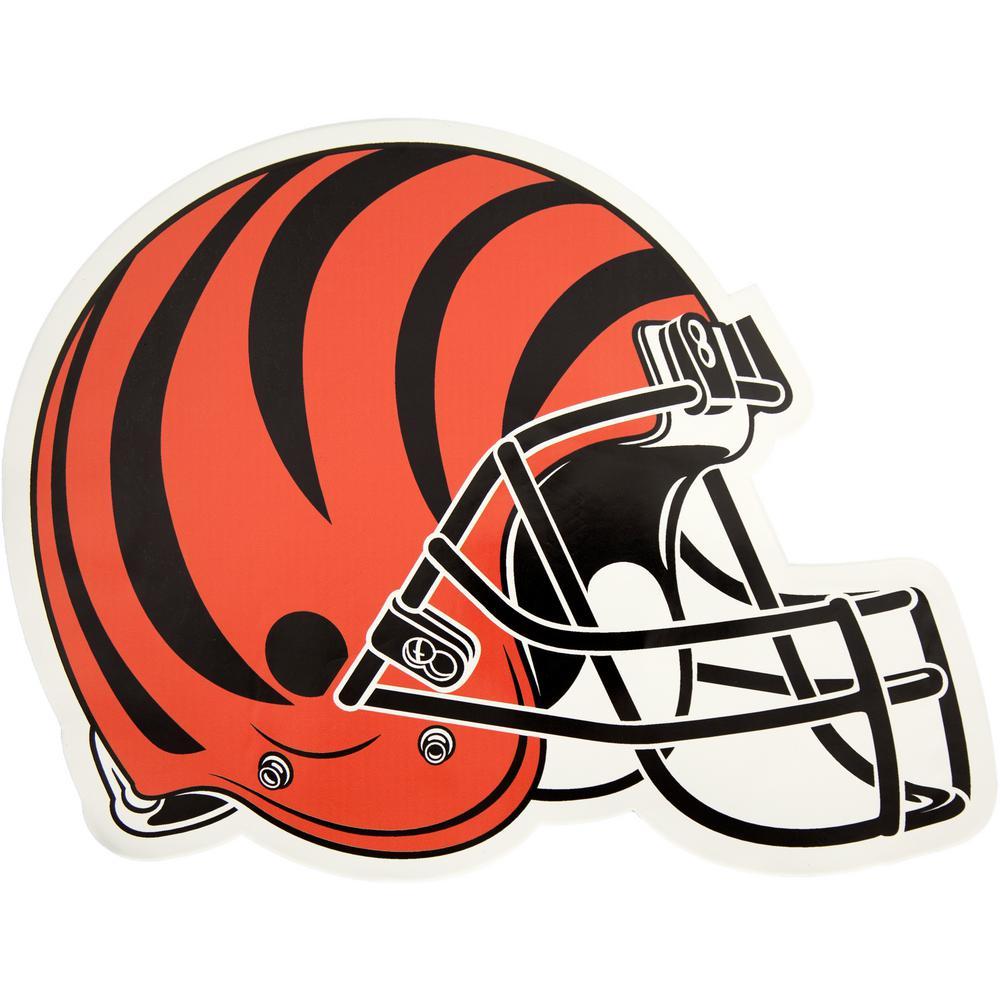 NFL Cincinnati Bengals Outdoor Helmet Graphic- Large