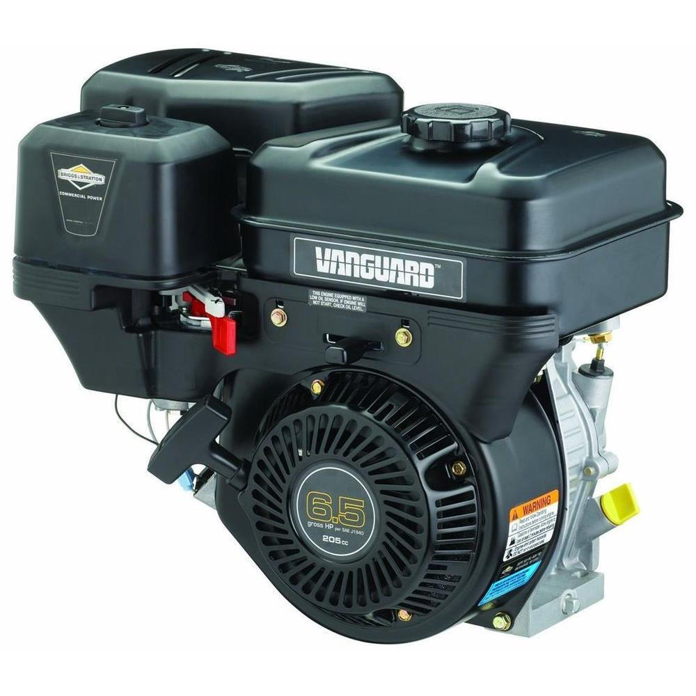 Briggs stratton 6 5 hp gross horizontal vanguard gas for Briggs and stratton 5hp motor