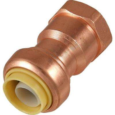1/2 in. Copper Push-to-Connect x Female Adapter
