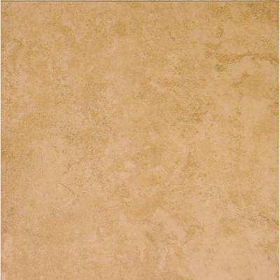 Elissa Beige 16 in. x 16 in. Glazed Ceramic Floor and Wall Tile (17.85 sq. ft. / case)