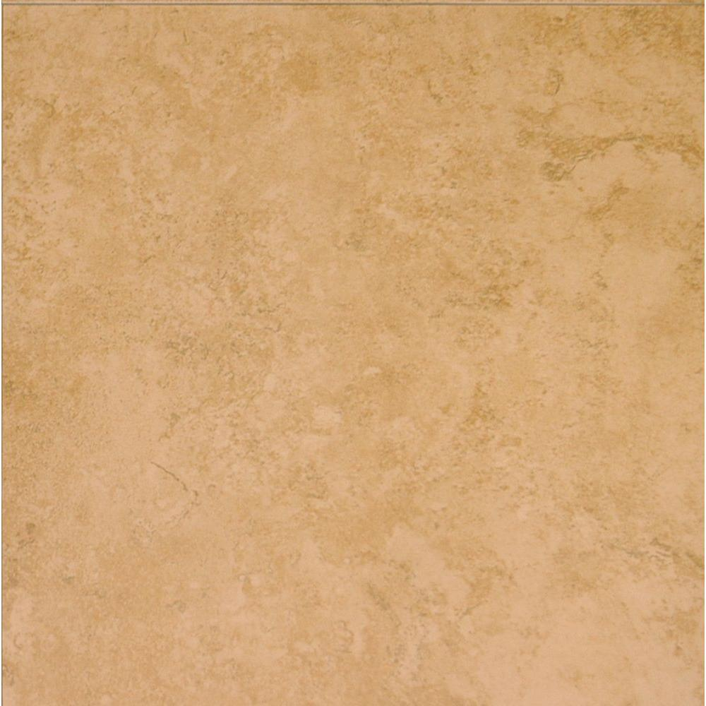 Elissa Beige 16 In X Glazed Ceramic Floor And Wall Tile