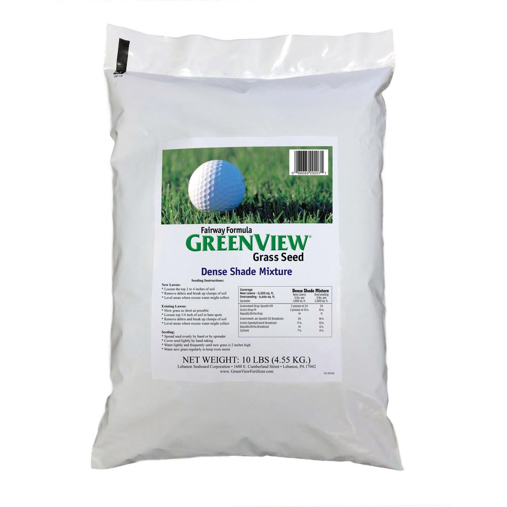 GreenView 10 lb. Fairway Formula Dense Shade Grass Seed Mixture