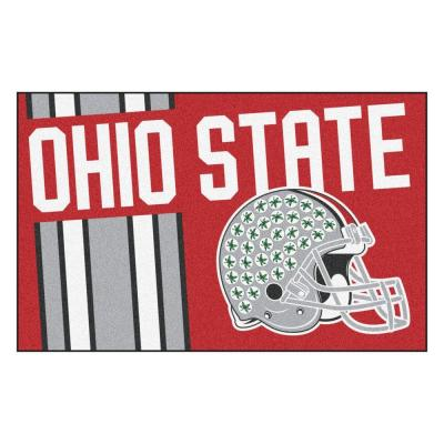 NCAA Ohio State University Red 2 ft. x 3 ft. Area Rug