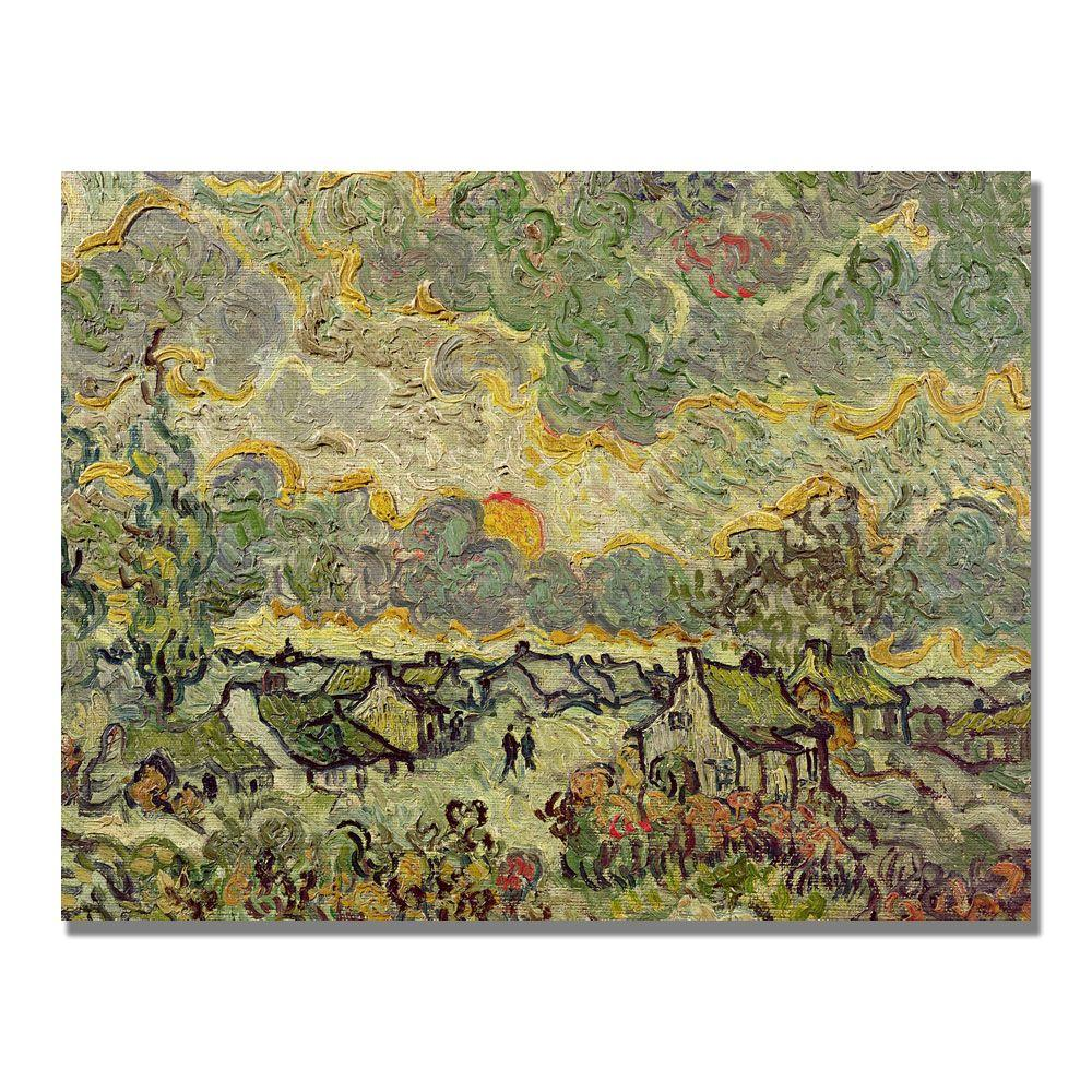 Trademark Fine Art 18 in. x 24 in. Autumn Landscape Canvas Art