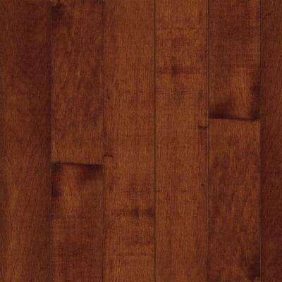 Take Home Sample - American Originals Salsa Cherry Maple Engineered Click Lock Hardwood Flooring - 5 in. x 7 in.