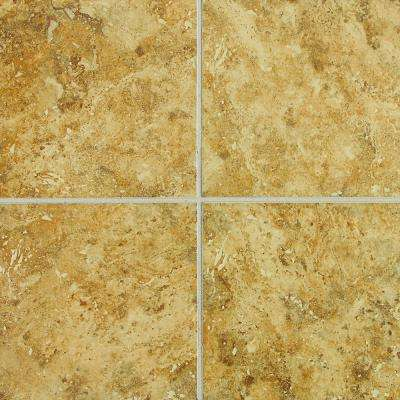 Heathland Amber 12 in. x 12 in. Glazed Ceramic Floor and Wall Tile (11 sq. ft. / case)