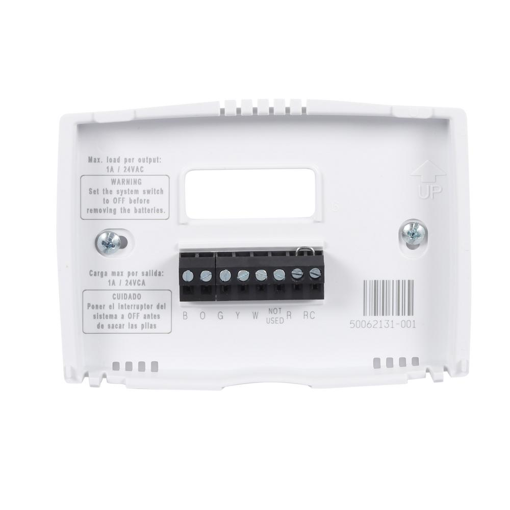 Wiring Diagram For Honeywell Thermostat Rth221