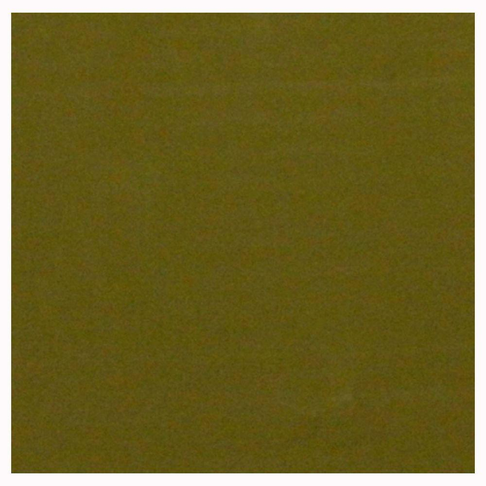 U.S. Ceramic Tile Glass Olive 4 in. x 4 in. Unglazed Insert Wall Tile-DISCONTINUED