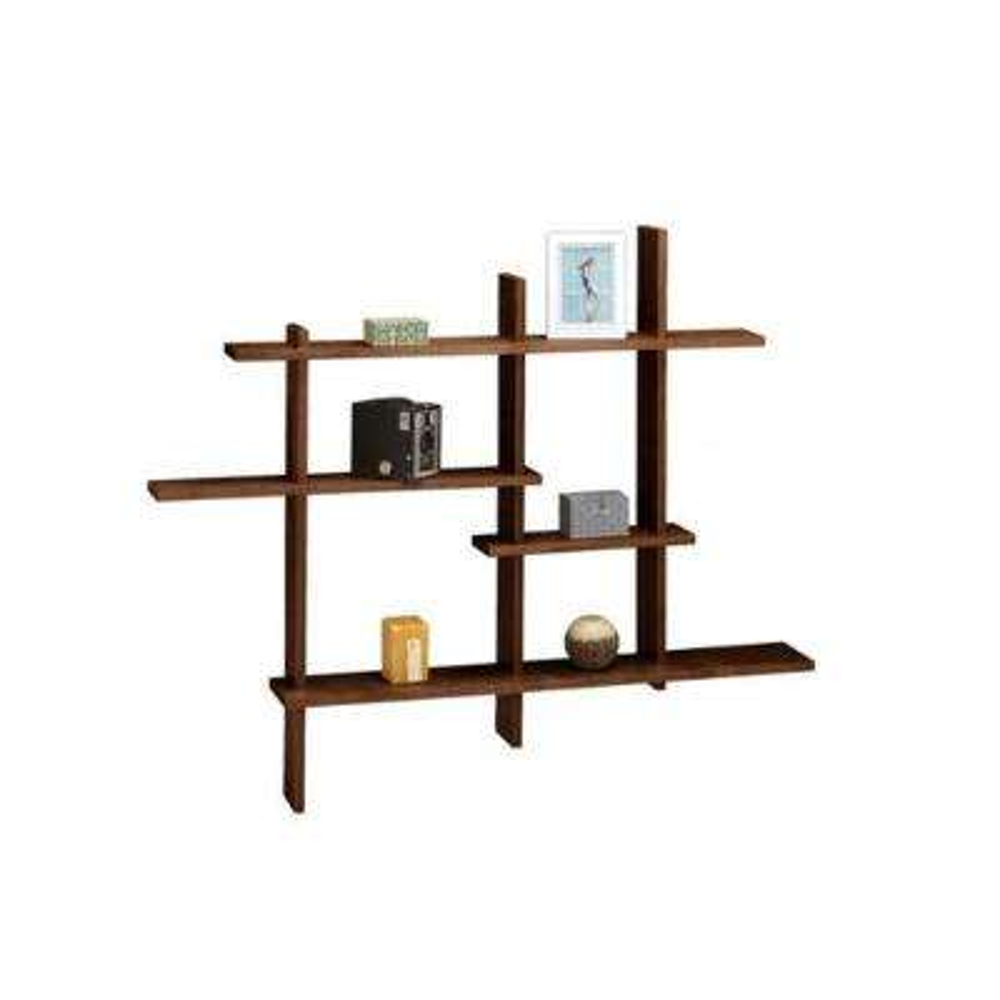 41 in. x 48.5 in. Chocolate Standard Display Shelf