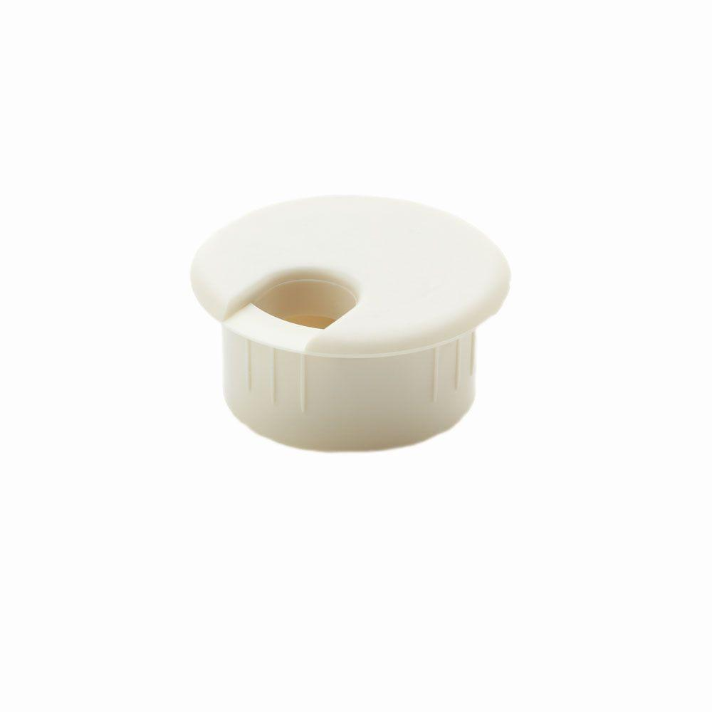 COMMERCIALELECTRIC Commercial Electric 2 in. Furniture Hole Cover, Beige