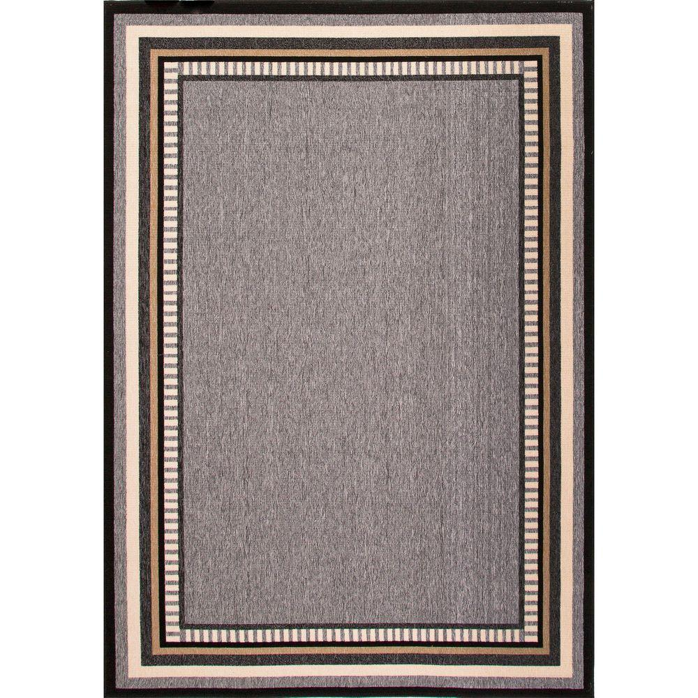Home decorators collection hand made black ink 7 ft 11 in for Home decorators indoor outdoor rugs