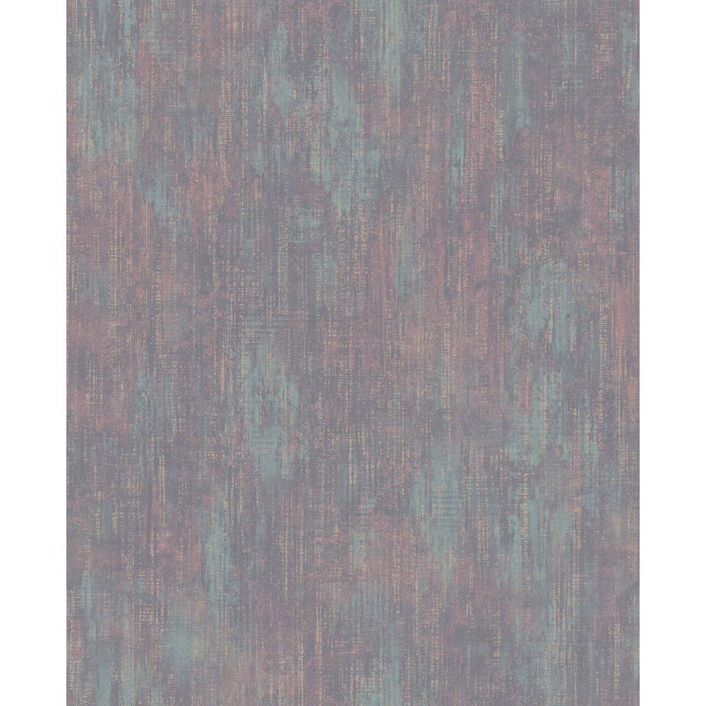 Advantage Altira Teal Texture Wallpaper 2835-M1408