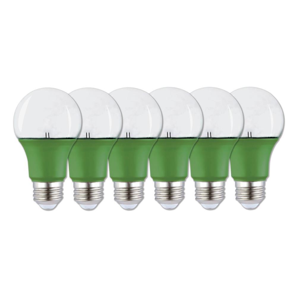 60-Watt Equivalent A19 LED Grow Light Bulb (6-Pack)