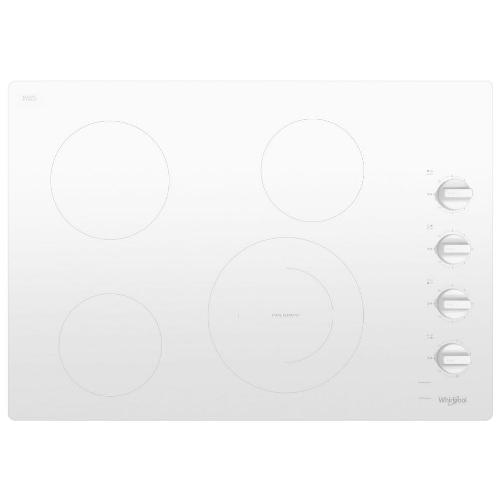 Whirlpool 30 In Radiant Electric Ceramic Glass Cooktop In