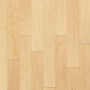 Bruce Natural Maple 3 8 In Thick X 5 Wide Random Length Engineered Hardwood Flooring 22 Sq Ft Case EMA20LG