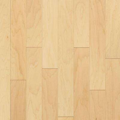 Natural Maple 3/8 in. Thick x 5 in. Wide x Random Length Engineered Hardwood Flooring (22 sq. ft. / case)