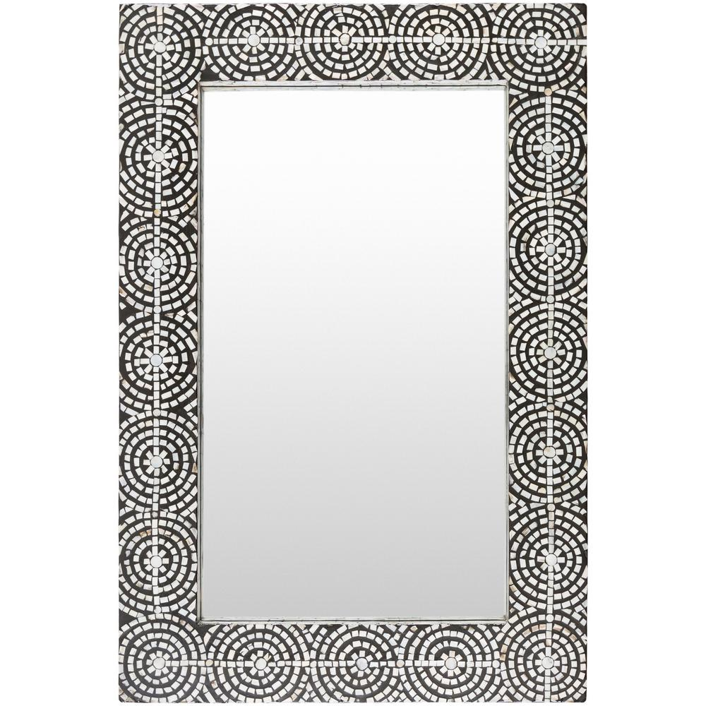 Iyanna 36 in. x 24 in. MDF Framed Mirror
