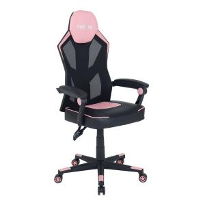 Incredible Techni Sport Ergonomic Pink High Back Racer Style Video Machost Co Dining Chair Design Ideas Machostcouk