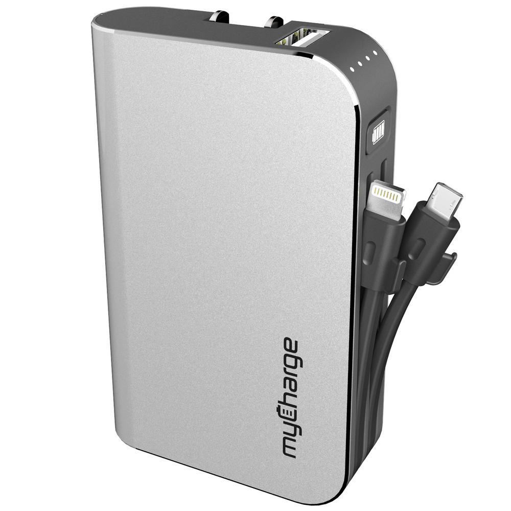 myCharge HubPlus 6700mAh Portable Charger-HB67V - The Home Depot a1330d96af37
