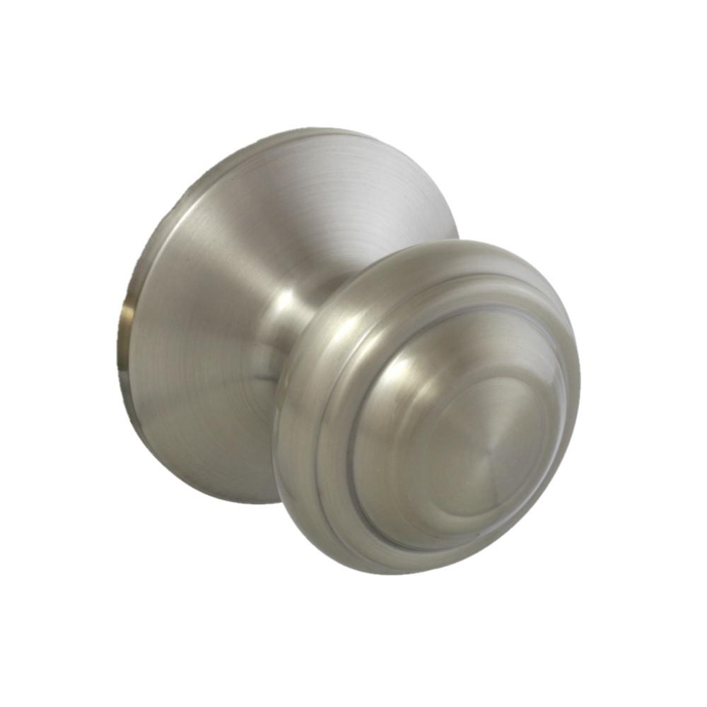 Madrid Satin Nickel Hall/Closet Passage Door Knob
