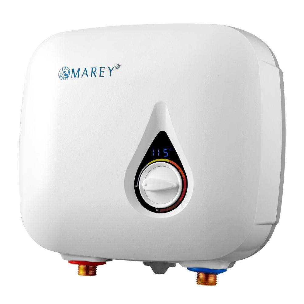 Marey 220 Volt 8 5 Kw Electric Tankless Water Heater Eco085 The Home Depot