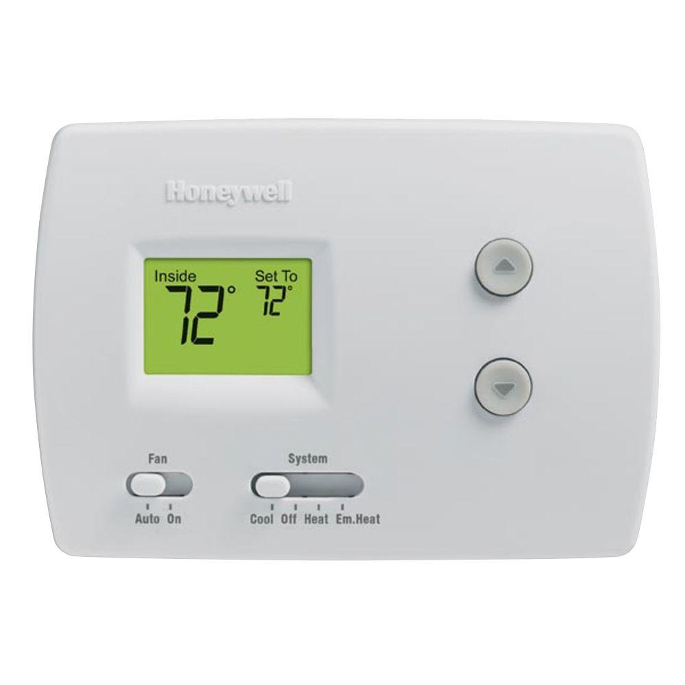 Honeywell Digital Non-Programmable Thermostat for Heat Pumps