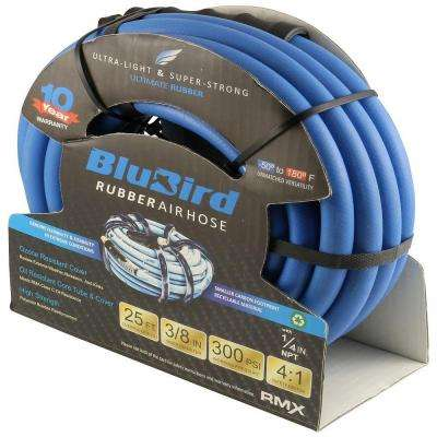 Blubird Air Hose 3/8 in. x 25 ft. 1/4 in. NPT