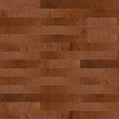 Birch Dark Gunstock 3/8 in. Thick x 4-1/4 in. Wide x Random Length Engineered Click Hardwood Flooring (20 sq. ft. /case)