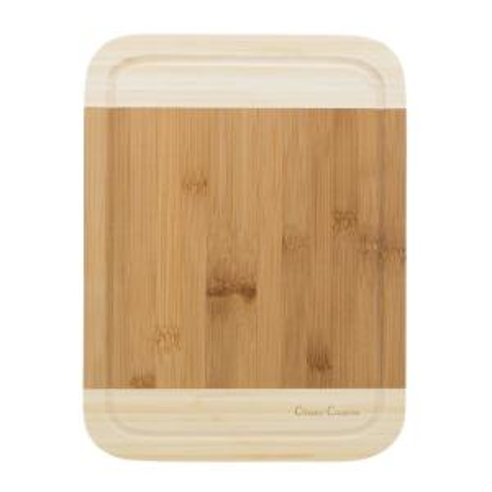 Trademark Wooden 2-Tone Cutting Board by Trademark