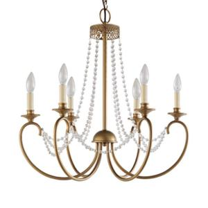 Hampton bay estelle 6 light gold hanging chandelier hd13811l6chpc hampton bay estelle 6 light gold hanging chandelier hd13811l6chpc the home depot aloadofball Choice Image