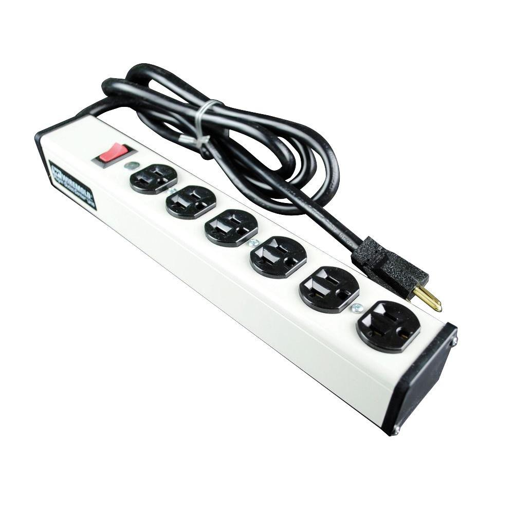 Multiple outlet power strips
