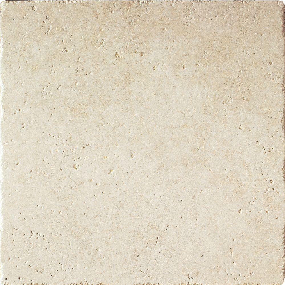MS International Leonardo Beige 18 in. x 18 in. Glazed Porcelain Floor and Wall Tile (13.5 sq. ft. / case)-DISCONTINUED