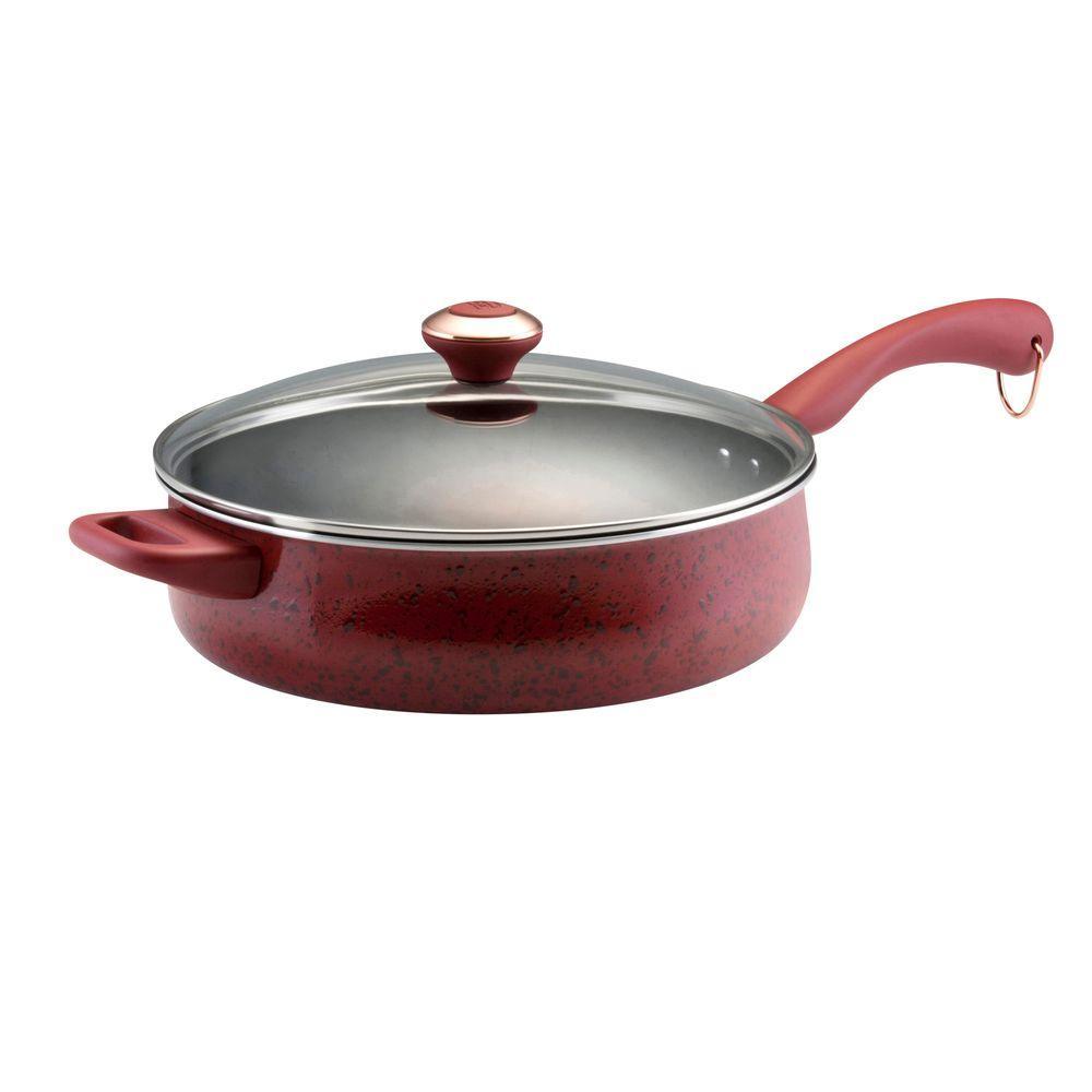 Signature Porcelain 5 Qt. Saute Pan with Lid