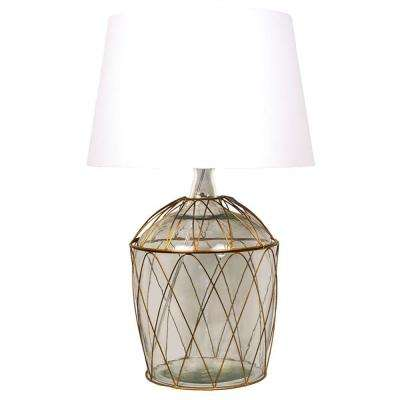 Kawartha 23.5 in. Antique Brass Table Lamp