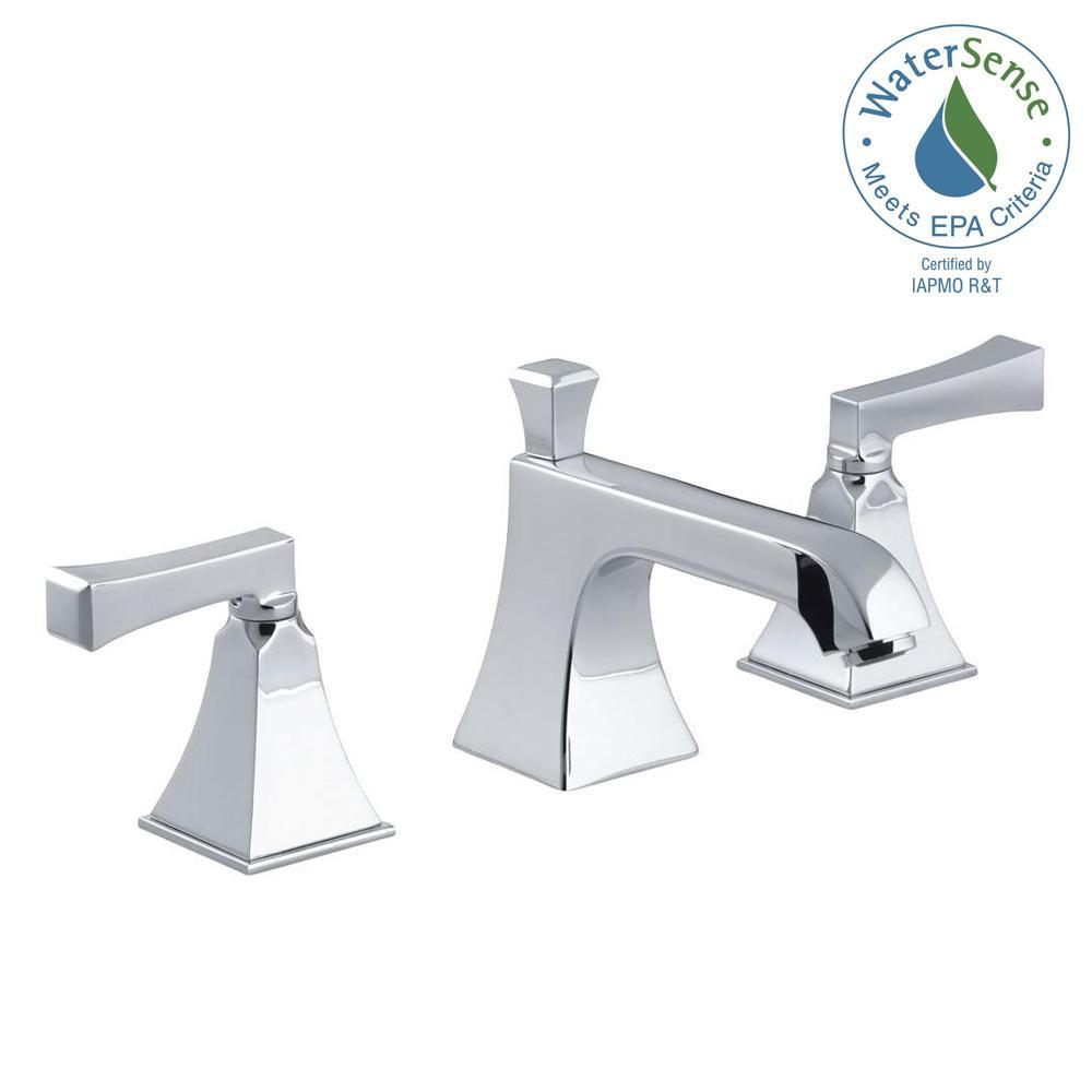 KOHLER Elmbrook 8 in. Widespread 2-Handle Bathroom Faucet in ...