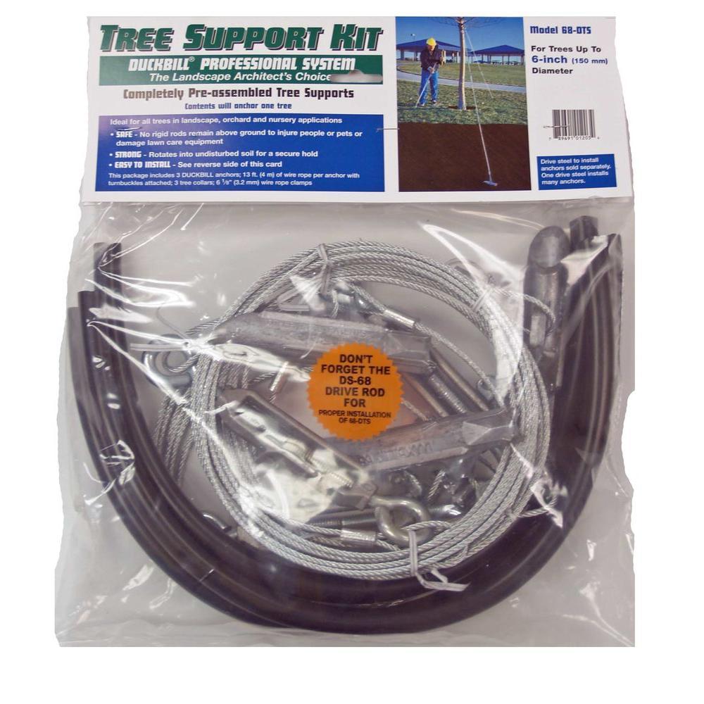 Duckbill Tree Support Kit