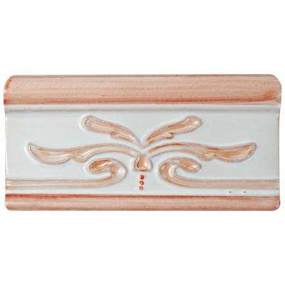 Novecento Cenefa Evoli Canela 2-5/8 in. x 5-1/8 in. Ceramic Wall Trim Tile