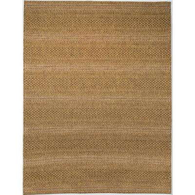 Natural Tan 5 Ft 3 In X 7 Ft Indoor Outdoor Area Rug