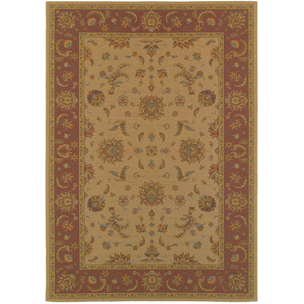 Home Decorators Collection Versailles Brown 2 Ft 7 In X
