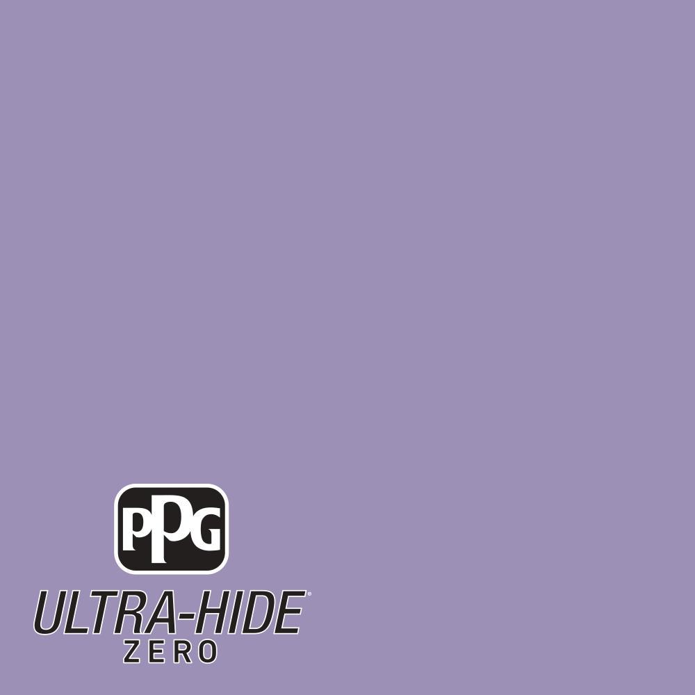PPG 1 gal. #HDPV46 Ultra-Hide Zero Lavender Flowers Eggshell Interior Paint