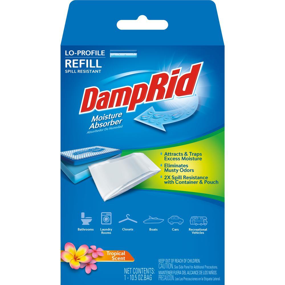 DampRid 10.5 oz. Low Profile Moisture Absorber Refill Tro...