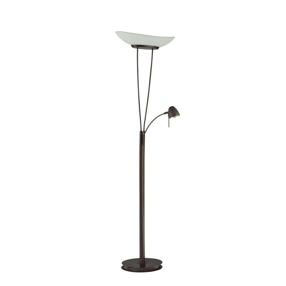 Filament Design Cassiopeia 72 in. Oil Rubbed Bronze Torchiere Lamp