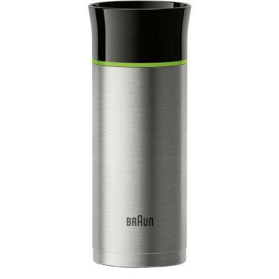 11 oz. Stainless Steel Double-Wall Thermal Travel Mug