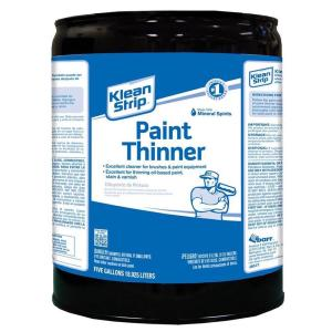 Klean Strip 5 Gal Paint Thinner Solvent Ckpt94402 The