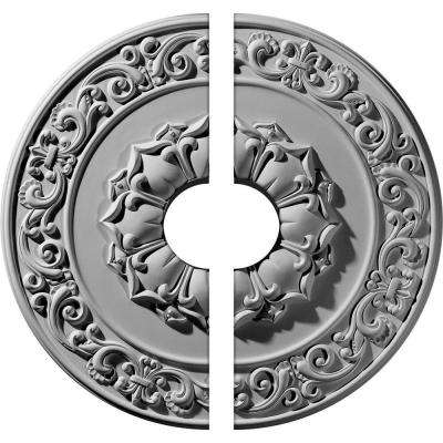 27-3/4 in. O.D. x 6 in. I.D. x 2 in. P Sydney Ceiling Medallion (2-Piece)